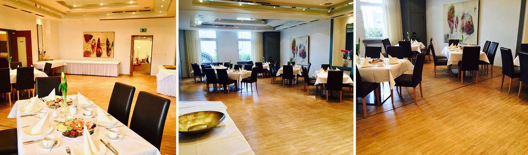 lemarron Restaurant - Spiegelsaal - Dekorationsbeispiel