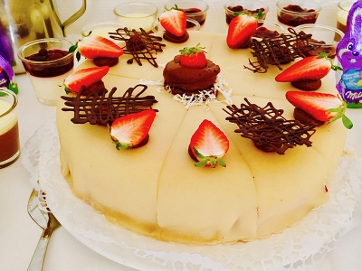 Brunch-Buffet-Ostern-Torte