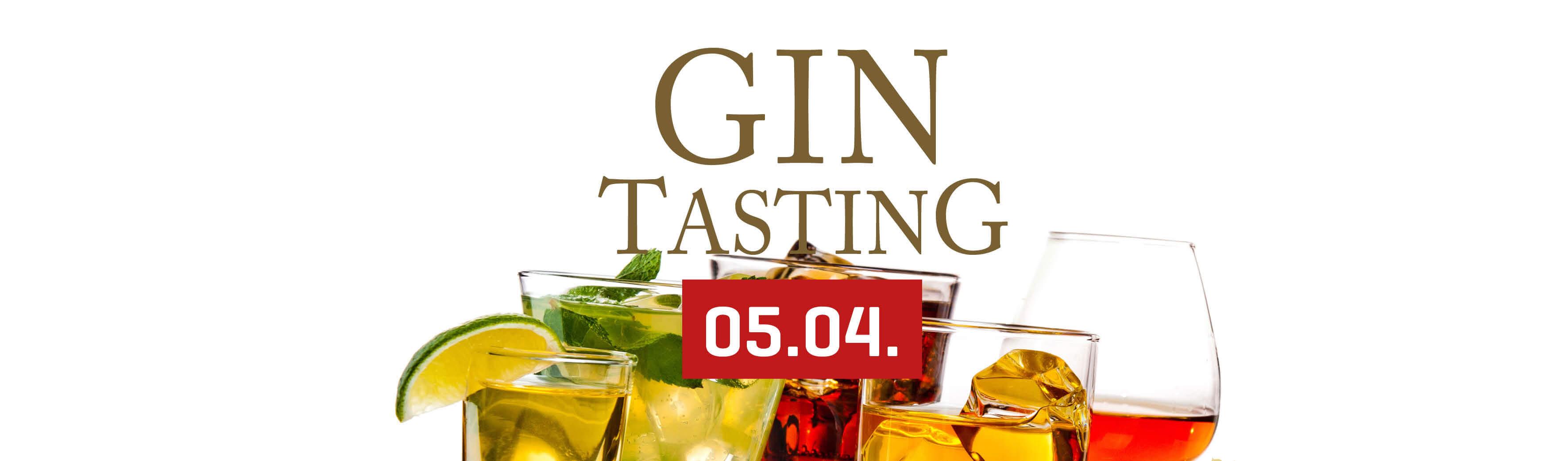 Gin-Tasting - 05.04. 2019 - le marron restaurant Menden