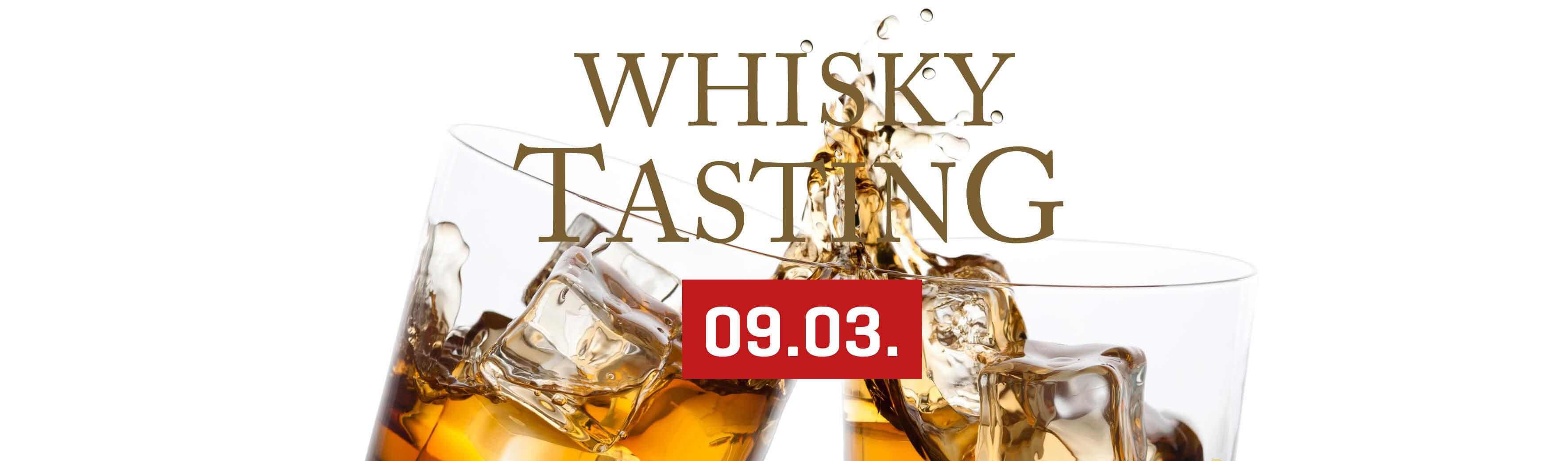 Whisky-Tasting - 09.03. 2019 - le marron restaurant Menden