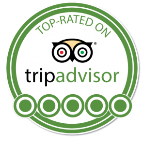 Top rated on TripAdvisor