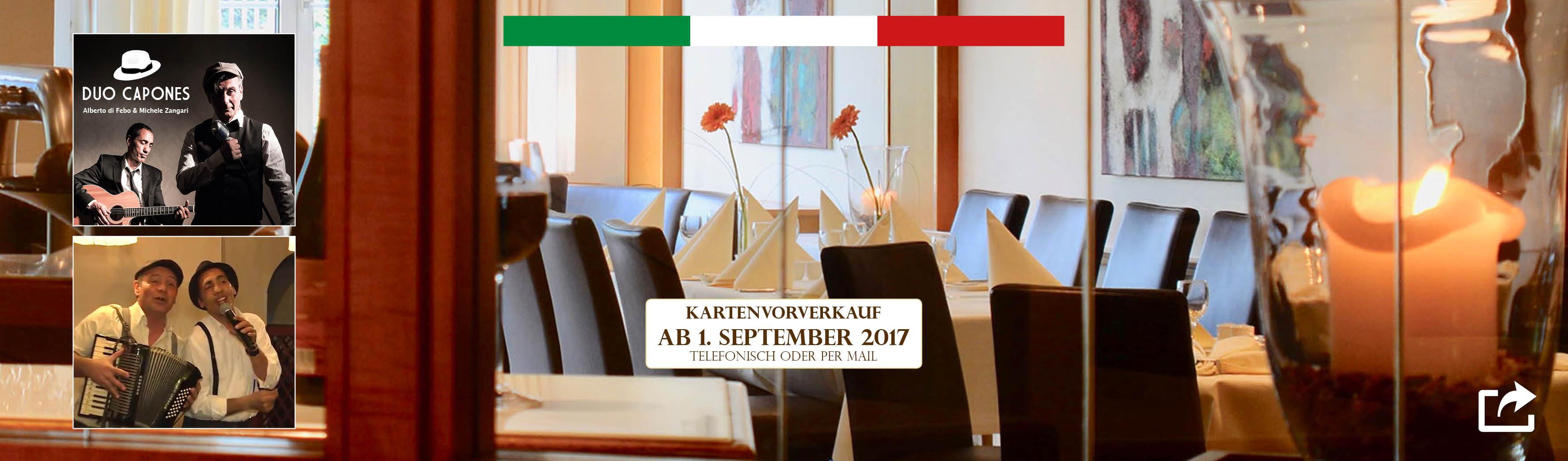 Italienische Nacht im le marron Restaurant Menden - 07-10-2017