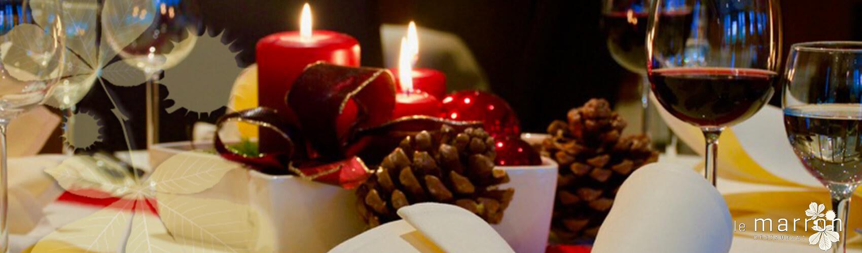 Ihre Weihnachtsfeier im le marron
