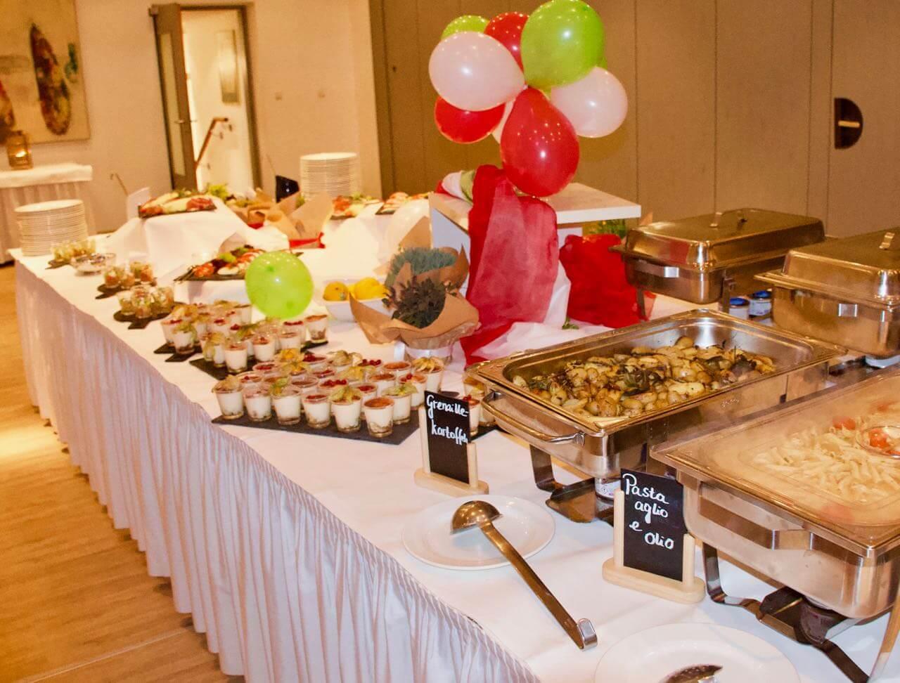 italiener moers buffet