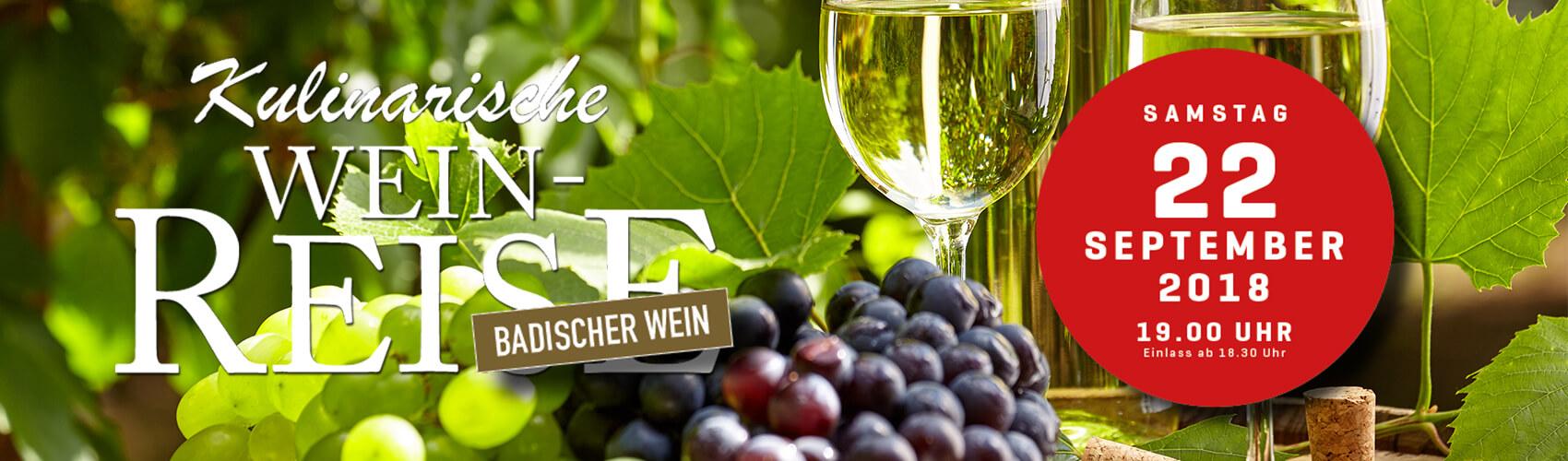 Kulinarische Weinreise - Baden-Baden