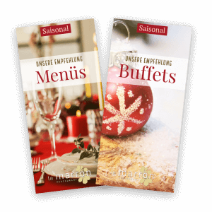 Menüs und Buffets 2018